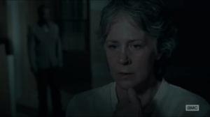No Way Out- Carol and Morgan talk
