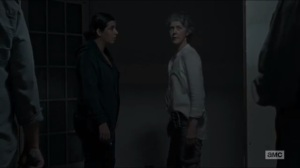 No Way Out- Carol tells the others that it's time to join the battle