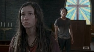 No Way Out- Enid and Glenn in the church