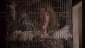 Smoke and Mirrors- Whitney Frost receives a cage of mice