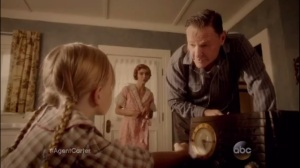 Smoke and Mirrors- Young Agnes Cully, played by Ivy George, does not like Uncle Bud, played by Chris Mulkey