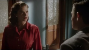 The Atomic Job- Peggy tells Sousa that she needs a disguise