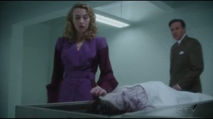 The Atomic Job- Whitney prepares to touch Jane Scott's body