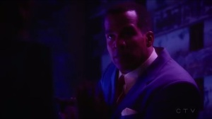 The Edge of Mystery- Jason points a gun at Peggy and Sousa