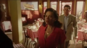 The Edge of Mystery- Peggy and Daniel visit an Italian restaurant