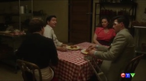 The Edge of Mystery- Peggy and Daniel want Joseph Manfredi to deliver a message to Whitney