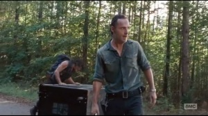 The Next World- Daryl and Rick find the vending machine