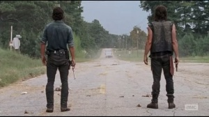 The Next World- Rick and Daryl robbed blind