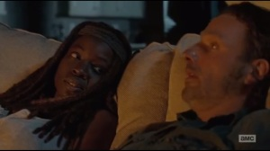 The Next World- Rick and Michonne talk about their day