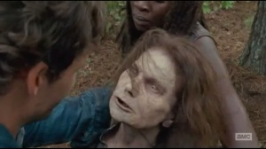 The Next World- Spencer and Michonne come across a reanimated Deanna