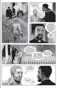 The Walking Dead #151- Gabriel tells Rick that he wants to start training