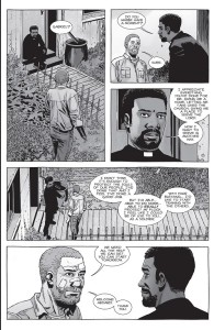 The Walking Dead #151- Gabriel tells Rick that he wants to start training