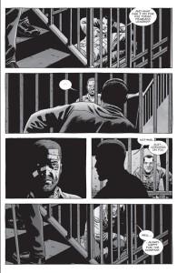 The Walking Dead #151- Rick checks on Negan