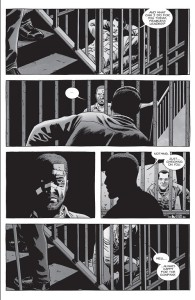 The Walking Dead #151- Rick checks on Negan