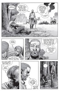 The Walking Dead #151- Rick tells Dwight that he's a leader