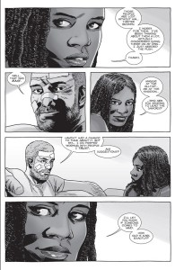 The Walking Dead #151- Rick wants Michonne to be leader at The Kingdom