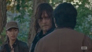 East- Glenn tries to convince Daryl to stay