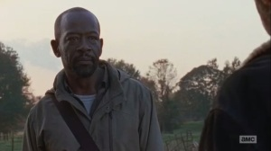 East- Morgan admits to Rick that he kept a Wolf alive
