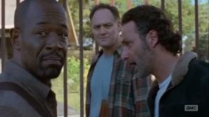 East- Rick, Tobin, and Morgan wonder when Carol left