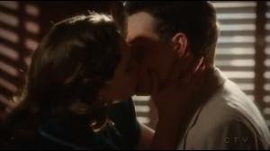 Hollywood Ending- Peggy and Daniel kiss