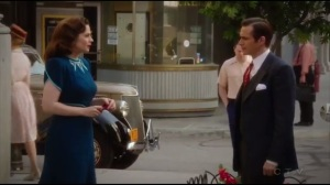 Hollywood Ending- Peggy and Jarvis about to bid farewell