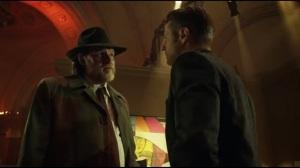 Mad Grey Dawn- Gordon tells Bullock that Internal Affairs is reopening the Galavan murder case