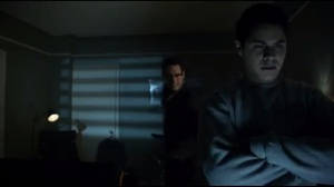 Mad Grey Dawn- Nygma about to kill Officer Pinkney