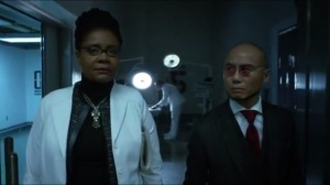 Mr. Freeze- Ethel Peabody, played by Tonya Pinkins, updates Hugo Strange