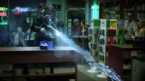 Mr. Freeze- Victor returns to the pharmacy