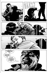 Negan kills Spencer