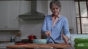 Not Tomorrow Yet- Carol cooks up some cookies