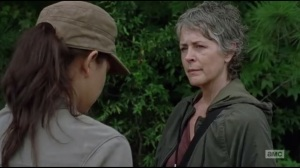 Not Tomorrow Yet- Carol speaks in Morgan's defense