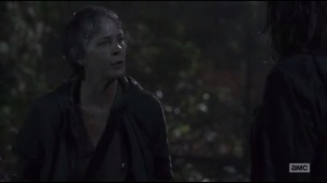 Not Tomorrow Yet- Carol tells Maggie that she should be someone else