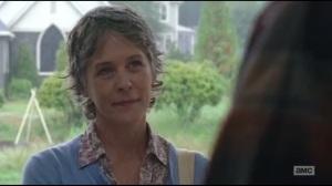 Not Tomorrow Yet- Carol watches as Tobin tastes her cookies