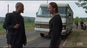 Not Tomorrow Yet- Gabriel makes a joke to Rick