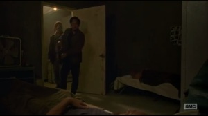 Not Tomorrow Yet- Glenn and Heath find two sleeping Saviors