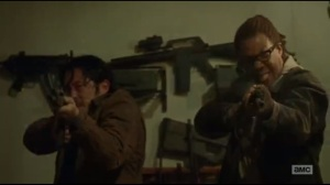 Not Tomorrow Yet- Glenn and Heath open fire