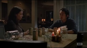 Not Tomorrow Yet- Maggie tells Glenn that she'll be coming on the mission