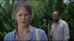 Not Tomorrow Yet- Morgan speaks with Carol
