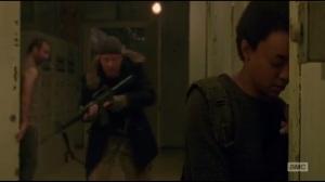Not Tomorrow Yet- Savior finds Sasha and Abraham