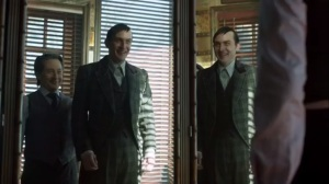 Prisoners- Elijah dresses Oswald in a fancy Italian suit