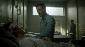 Prisoners- Jim visits Puck in the infirmary