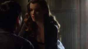 Prisoners- Sasha, played by Kaley Ronayne, hits on Oswald