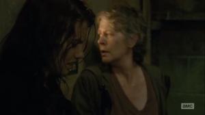 The Same Boat- Carol burns the Saviors