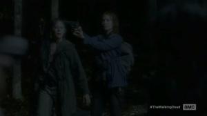 The Same Boat- Saviors capture Maggie and Carol