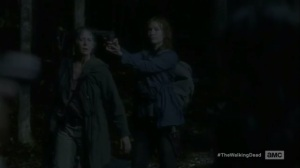 The Same Boat- Saviors capture Maggie and Carol