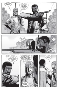 The Walking Dead #152- Dwight trains Gabriel