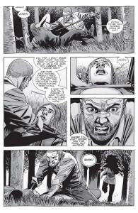 The Walking Dead #152- Rick almost kills Brandon