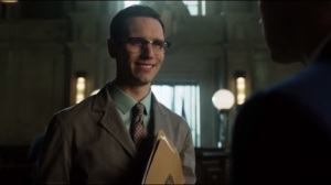 This Ball of Mud and Meanness- Jim gives Nygma a non-update on Miss Kringle