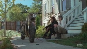 Twice As Far- Carol and Daryl talk